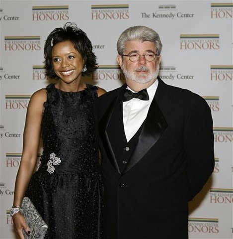 George Lucas and wife Marcia LucasGeorge Lucas First Wife